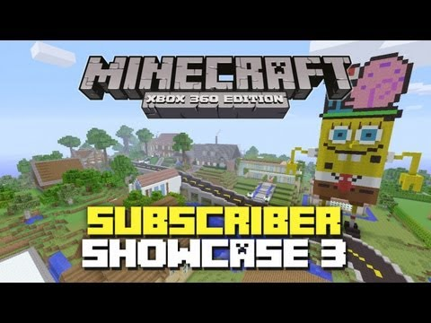Minecraft Xbox 360: Subscriber World Showcase! Episode 3
