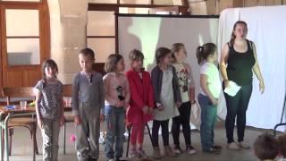 École des Remparts - Spectacle deuxième trimestre - Édition 2015 à Avallon (89)
