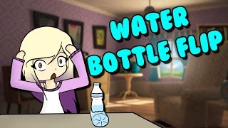 WATER BOTTLE FLIP CHALLENGE IN ROBLOX | The challenge of the bottle