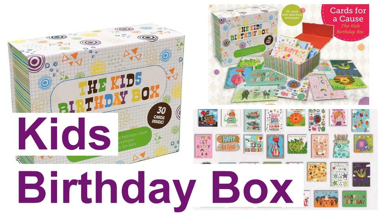 Usborne Cards for a Cause- Kids Birthday Box