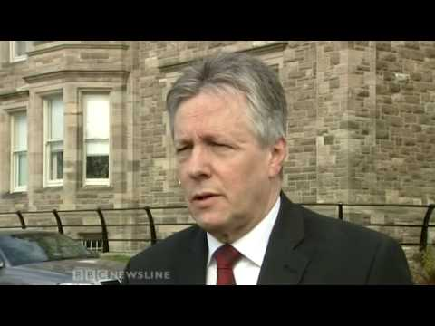 Peter Robinson Commenting On Bombardier Job Losses