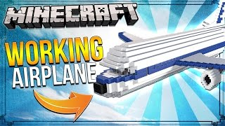 How to Make an Airplane in Minecraft!