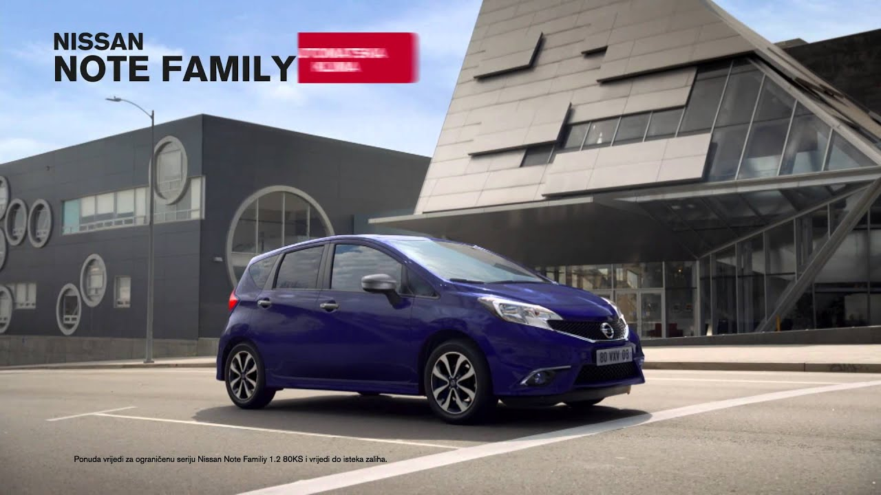 Nissan Note Family - YouTube