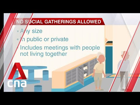 COVID-19: Singapore bans social gatherings of any size in both private and public spaces