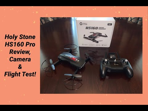 Holy Stone HS160 Pro Drone, Review, Video & Flight Test!