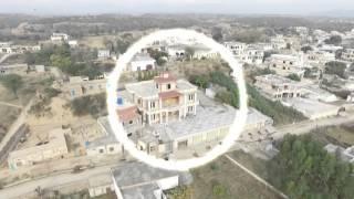 Panjeri Bhimber azad kashmir ( Air View )