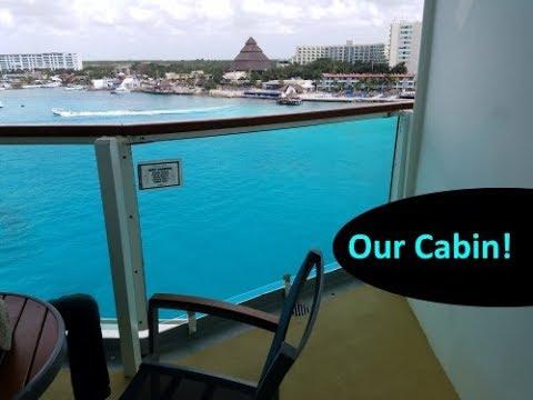 Brilliance of the Seas CORNER BALCONY (Deluxe Oceanview Stateroom) Tour 🛳