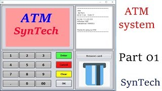 How to create ATM machine in JAVA programming - Java