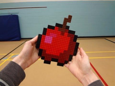 LEGO Red Apple - Minecraft