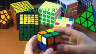 как собрать кубик треугольник