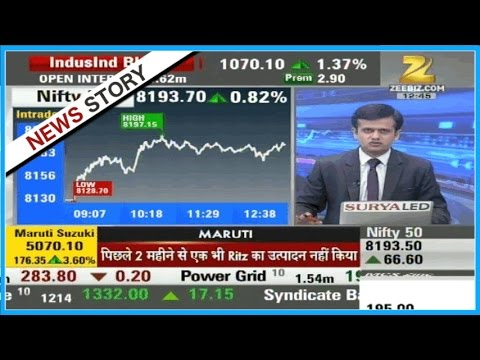 Superfast Future : Financial sector contributing most in today's session, Nifty currently at 8186