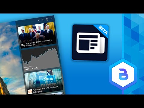 Microsoft News Bar For Windows 10 – Hands On Look