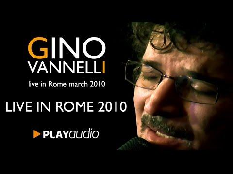 Gino Vannelli Live in Rome 2010 - Xtra Full Rare Video - PLAYaudio
