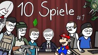 10 Spiele in 141 Sekunden #1 thumbnail
