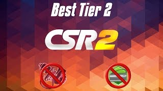 CSR2 Racing: Best Tier2 car?! [1.8.3] - All compared (no stage 6 & no fusion parts)