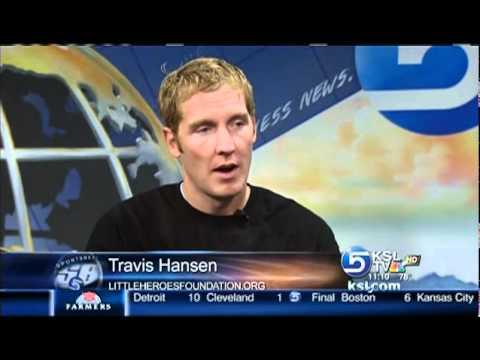 KSL 5 Interview Travis Hansen/Little Heroes Foundation