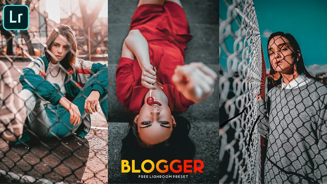 PORTRAIT BLOGGER PRESET | Lighroom mobile preset | moody tone - lighroom Editing