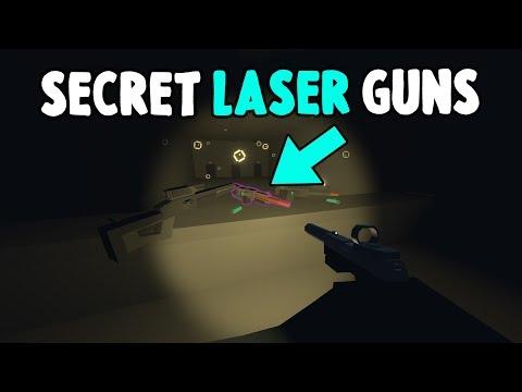 How to get the NEW LASER GUNS! (Secret Underwater Bunker in Unturned)