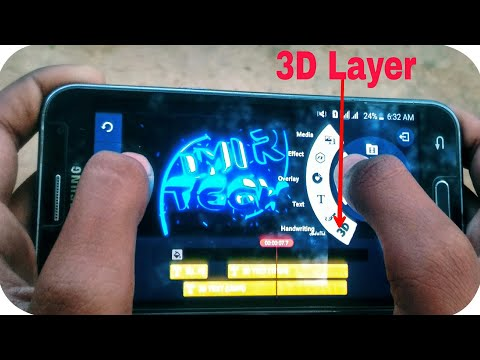 How To Make 3d intro on Android phone | kinemaster 3D layer 2018 update|3d epic intro