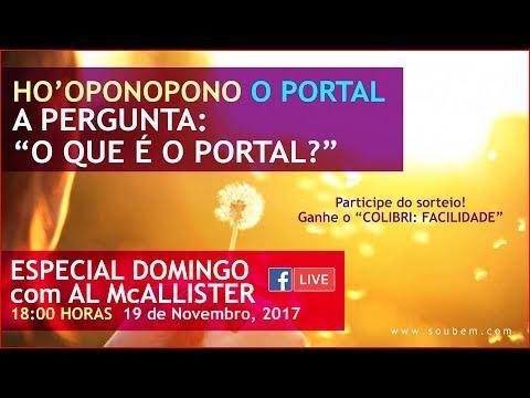 Facebook LIVE! ESPECIAL O QUE É O Portal 19-11-2017