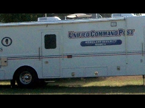 DHS Homeland Security Command Post In National Forest!