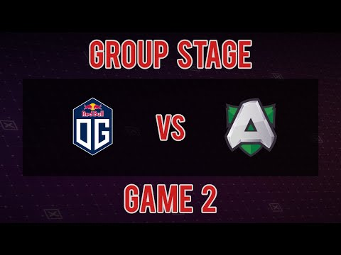 [DreamLeague S11 Qualifier] OG vs Alliance - Game 2 - Group Stage Opening Match