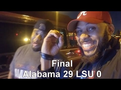 I Got In A Fight At The LSU Vs Bama Game Tailgating | ALABAMA Vs LSU Live Reaction