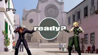 The King of Fighters XI (PlayStation 2) Arcade Play as K' Team