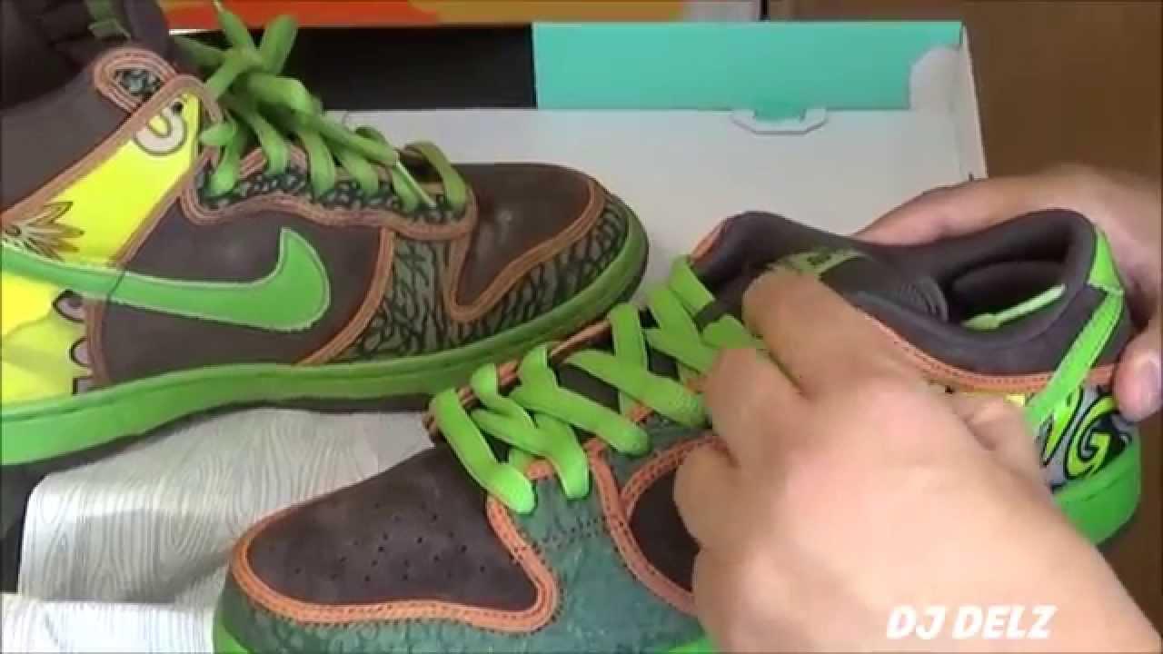 Nike SB Dunk De La Soul LOW VS HIGH