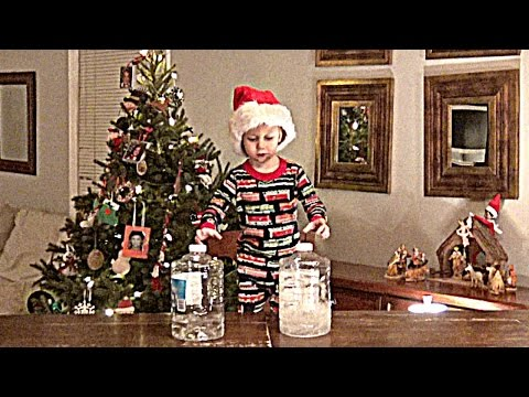 Water Bottle Flip Christmas Gram | That's Amazing