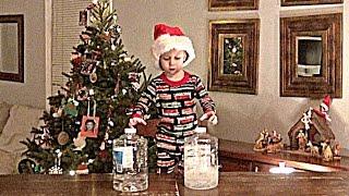Water Bottle Flip Christmas Gram | That's Amazing