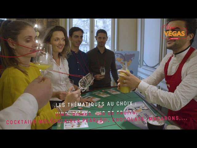 RÉSEAU CINÉRÉA : VINI VEGAS - Le Casino du Vin et des Saveurs