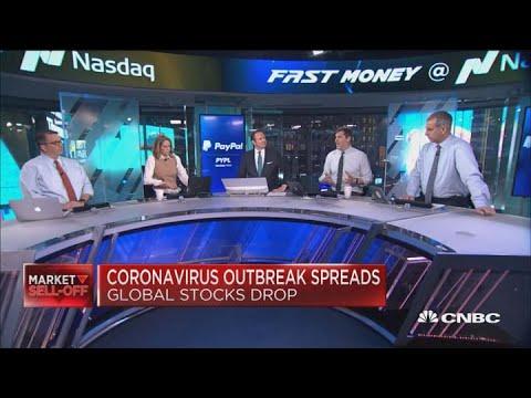 Stocks tumble as coronavirus fears continue to spread