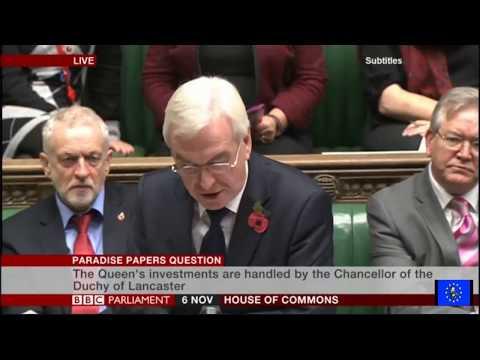 Paradise Papers: John McDonnell raises urgent question in parliament