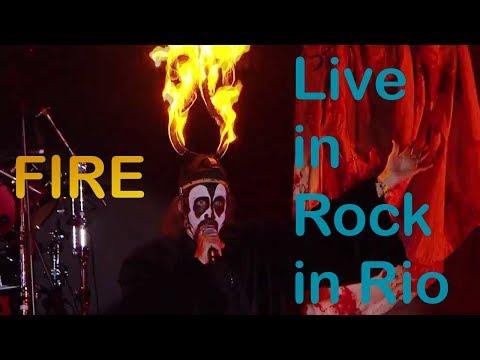 Arthur Brown & Alice Cooper - Fire live Rock in Rio 2017
