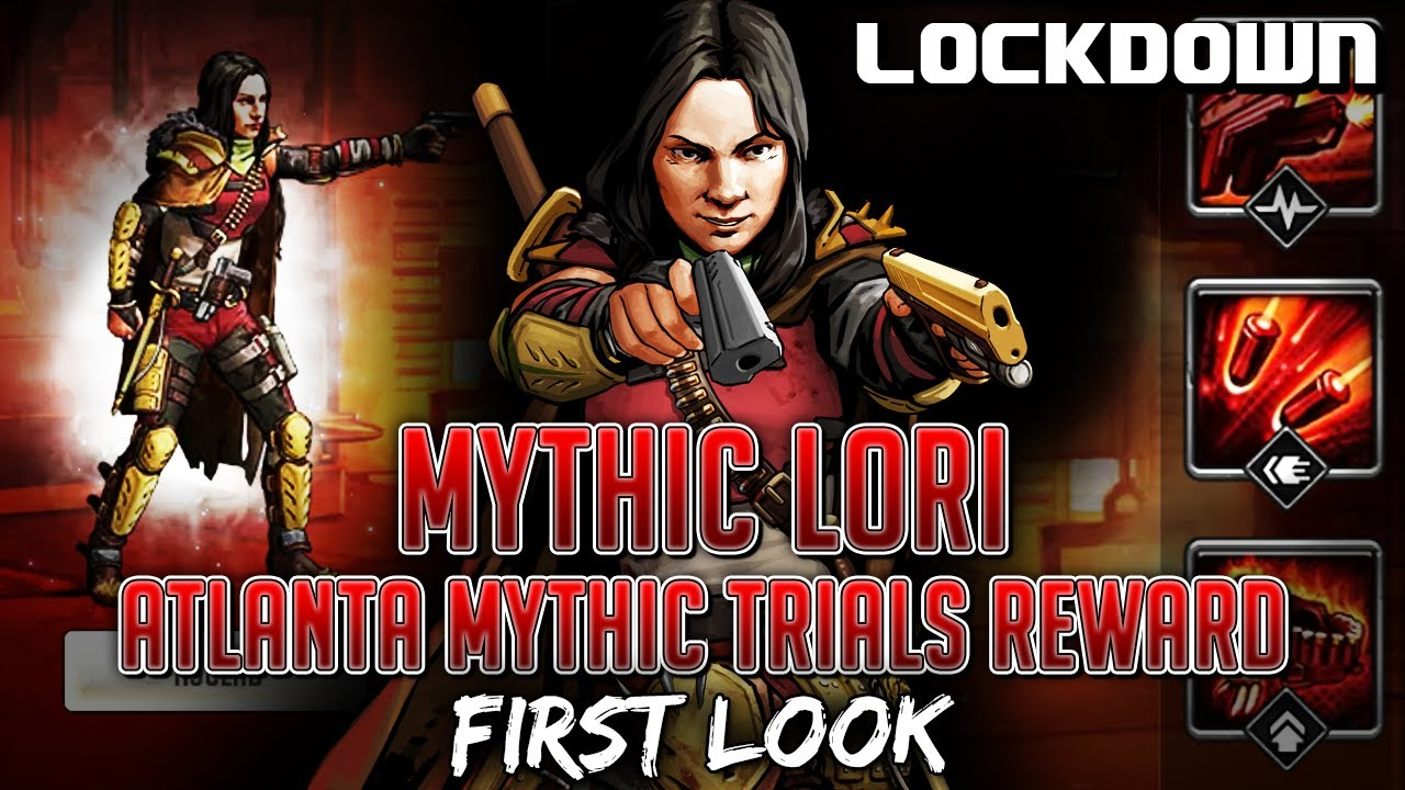 TWD RTS: Mythic Lori, Atlanta Mythic Trials Reward - The Walking Dead: Road to Survival Leaks