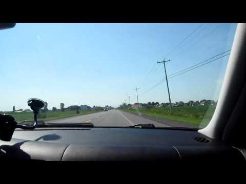 Driving in the country. (saint jean de matha) Qc