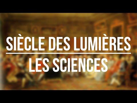 Le siècle des Lumières - Les Sciences