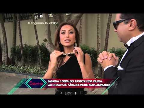 Sabrina Sato tem encontro romântico com Geraldo Luís