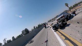 all girls ride multi motorcycle crash 02 21 16