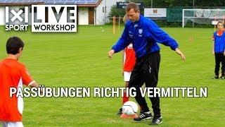 Passschleife: Fußball-Trainingseinheit mit Ingo Anderbrügge -  (Ausschnitt)