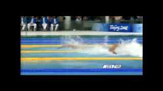 Epic Olympic Moments: Beijing 2008 Mens 4x100m Freestyle Relay (Full - Musical Emphasis)