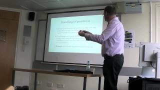 Professor Rob Gilles - Competition, Networks and Markets in the 21st Century