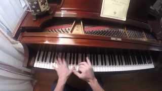 Meshuggah - Combustion (piano)