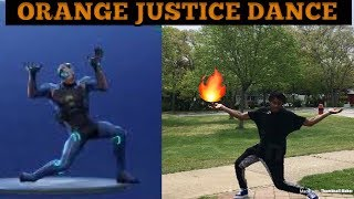 How To Do The Orange Justice Dance *In 3 minutes or less