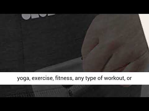 ae239d33db62c ODODOS High Waist Out Pocket Stretch Yoga Leggings Best Seller on Amazon