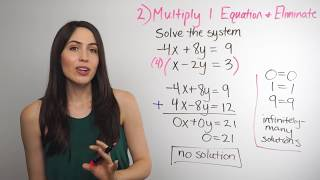 Solving Systems of Equations... Elimination Method (NancyPi)