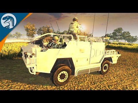 BRITISH TROOPS IN AFGHANISTAN | Modern Assault Mod | Men of War: Assault Squad 2 [MOD] Gameplay