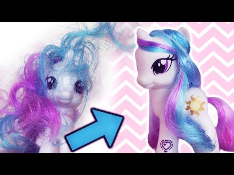 How to Fix My Little Pony Hair Soft and Shiny Manes!| Alice LPS