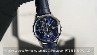 Maurice Lacroix Pontos Automatic Chronograph PT6388-SS001-420-4